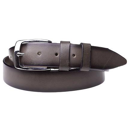 Натуральная кожаный мужской ремень JK капучино (MC352170101), фото 2