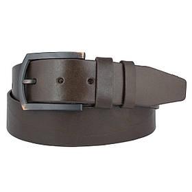 Натуральная кожаный мужской ремень JK Темно-коричневый (MC451050118)