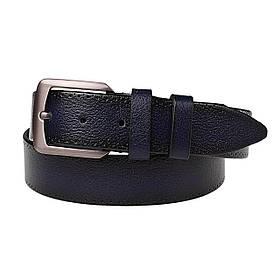 Натуральная кожаный мужской ремень JK Синий (MC352027121)