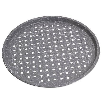 Форма для запекания пиццы Ø33см  из углеродистой стали, фото 2