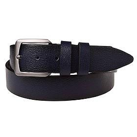 Натуральная кожаный мужской ремень JK Синий (MC352020121)