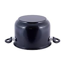 Пароварка 4-х уровневая 10л из углеродистой стали для приготовления пищи для индукции, фото 2