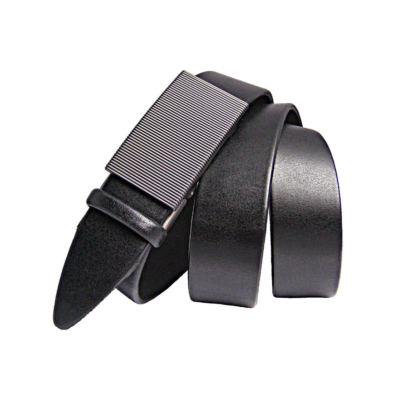 Натуральная кожаный мужской ремень JK Черный (MZ352010192)