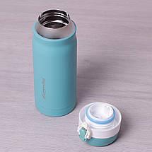 Термос-бутылка Kamille 450мл из нержавеющей стали, фото 2