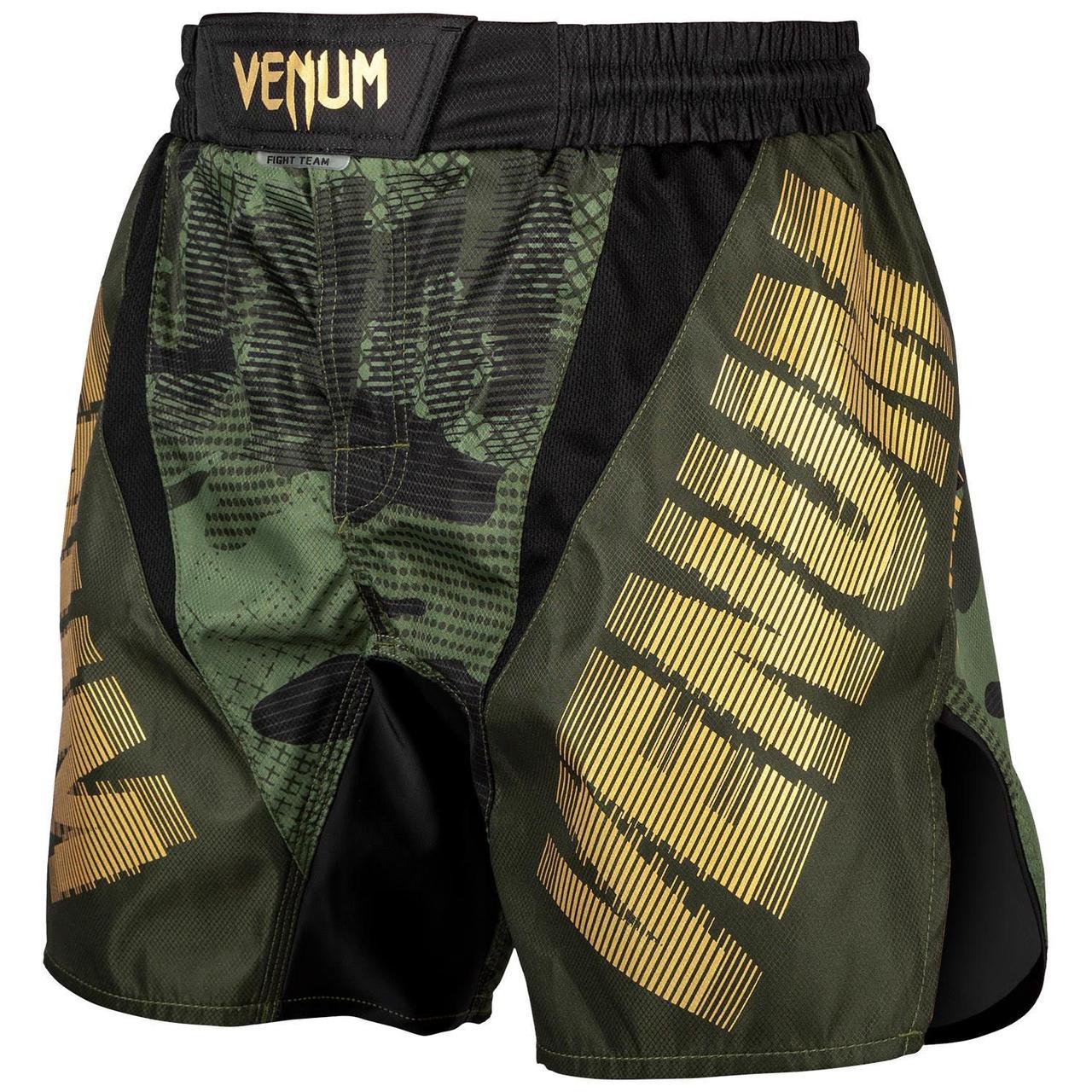 Шорты для MMA Venum Tactical Fightshorts Forest Camo Black
