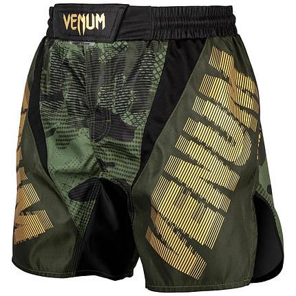Шорты для MMA Venum Tactical Fightshorts Forest Camo Black, фото 2