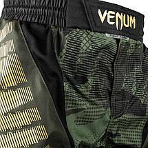 Шорты для MMA Venum Tactical Fightshorts Forest Camo Black, фото 3