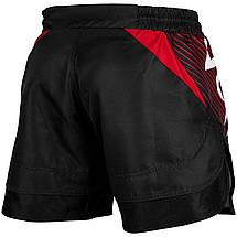 Шорты для MMA Venum NoGi 2.0 Fightshorts Black Red, фото 2