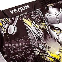 Шорты для MMA Venum Viking 2.0 Fightshort Black Yellow, фото 3