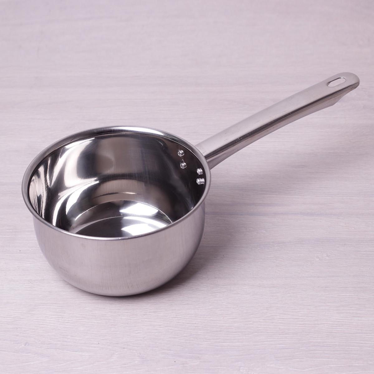Ковш Kamille 1.5л из нержавеющей стали без крышки для индукции