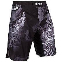 Шорты для MMA Venum Minotaurus Fightshorts Black, фото 2