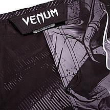 Шорты для MMA Venum Minotaurus Fightshorts Black, фото 3