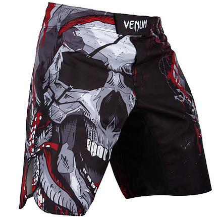 Шорты для MMA Venum Pirate 3.0 Fightshorts Black Red, фото 2