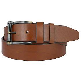 Натуральная кожаный мужской ремень JK Светло-коричневый (MC451040110)