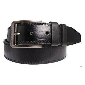 Натуральная кожаный мужской ремень JK Черный (MC451018101)