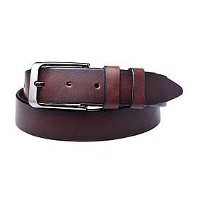 Натуральная кожаный мужской ремень JK Светло-коричневый (MC352040129)