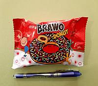 Пончик Brawo Donut з присипкою з начинкою какао 50 г, фото 1