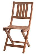 Садовый стул складной из хардвуда  (твердое дерево) 40х55 см, фото 1
