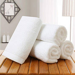 Полотенце HOTEL 30х30 500 г/м2 белый