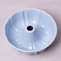 """Форма для выпечки Kamille Ø25*8см с антипригарным покрытием """"мрамор"""", фото 2"""