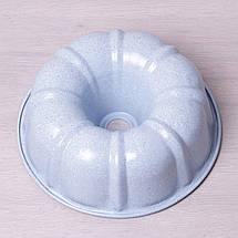 """Форма для выпечки Kamille Ø25*8см с антипригарным покрытием """"мрамор"""", фото 3"""