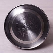 Чайник Kamille 3л из нержавеющей стали со свистком, фото 2