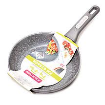 Сковорода Kamille 22см с гранитным покрытием из алюминия для индукции, фото 3
