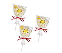 Маршмеллоу Confectum Marshmallow pops  в форме цветка