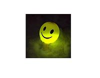 """Светящиеся шарики ( 4 шт\уп., рисунок """"Смайлик'')., фото 1"""