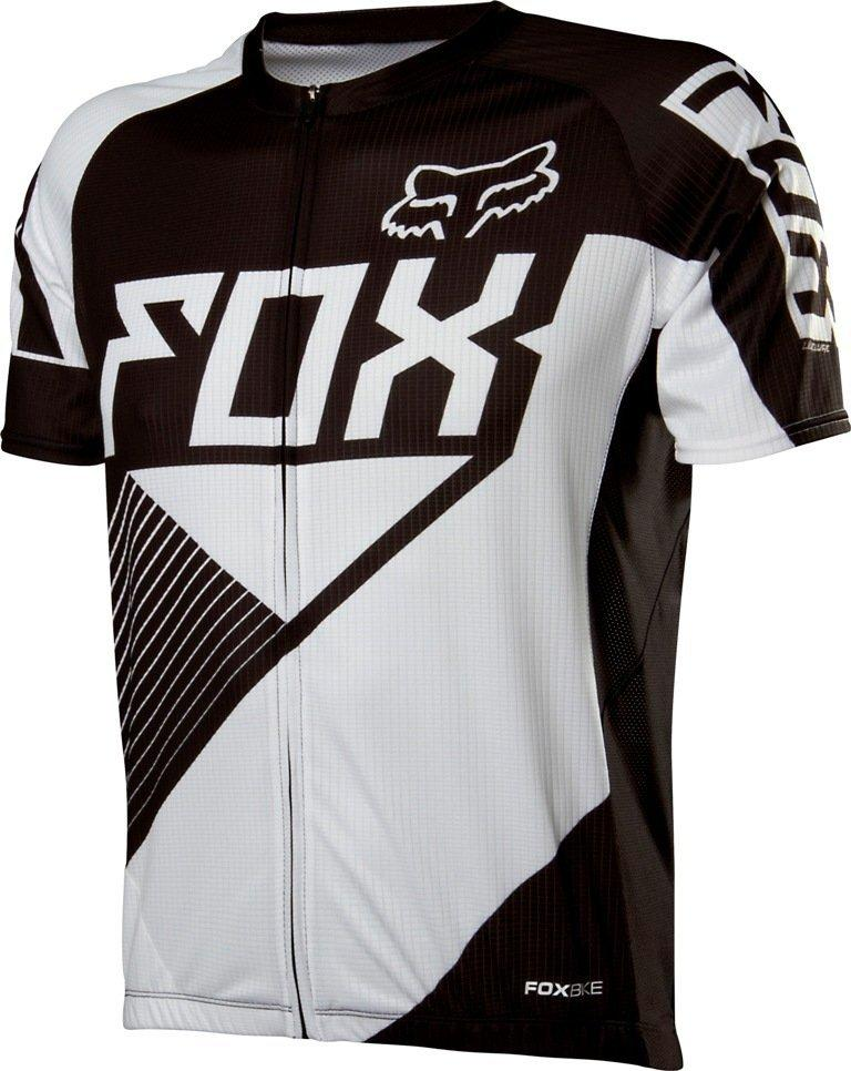 Вело джерси FOX LIVEWIRE RACE JERSEY [BLACK/WHITE], XL