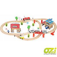 Детская железная дорога 88 ел 9362