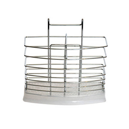 Подставка навесная Kamille для ложек и вилок 17*6.5*15.5см, фото 2