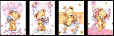 Пакеты подарочныебумажныеламинированные, 28*34*9 cm,12-14 дизайнов (ассорти:мужские, детские,цветы).