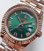 """Часы Rolex *day-date"""" green.класс ААА, фото 1"""