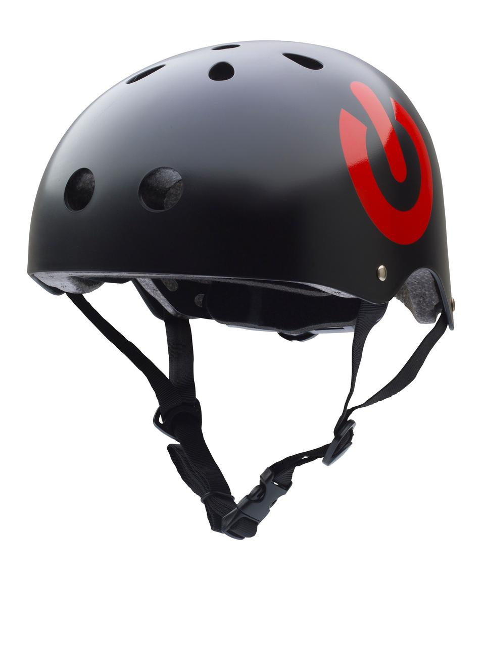 Велосипедний шолом Trybike 47 53см чорний ON/OFF (COCO 8S)