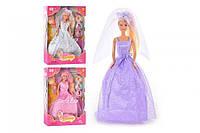 Кукла DEFA 28см 6003 невеста меняет цвет волос Дефа