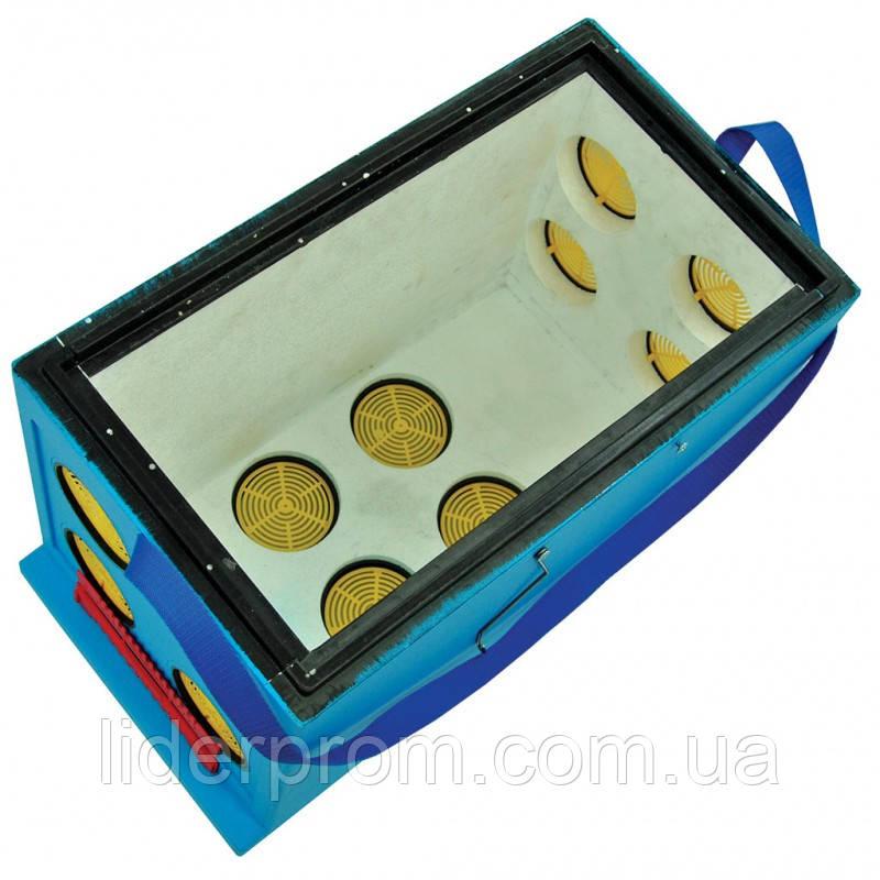 Ящик Дадан для транспортування бджіл 6-рамковий, фарбований LYSON Польща