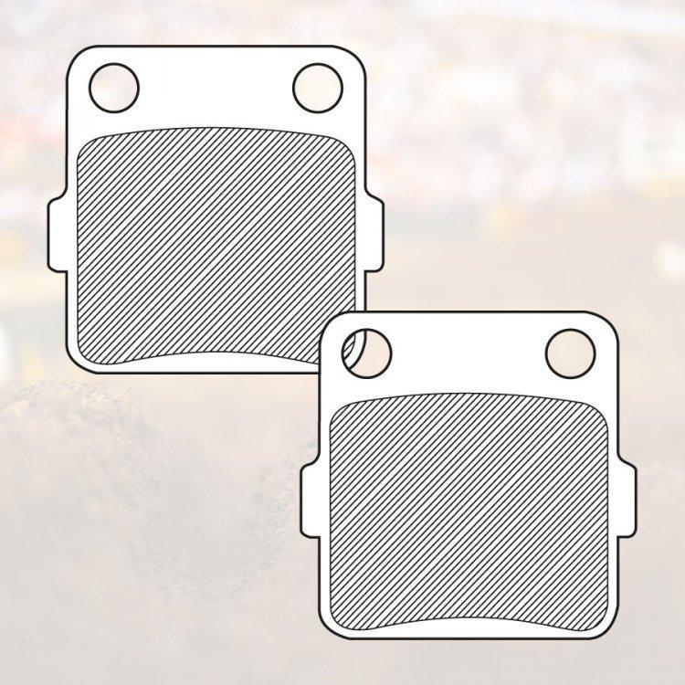 Тормозные колодки Renthal RC-1 Works Brake Pads BP-110