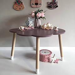 Детский деревянный стол Облако. 100% дерево массив бук