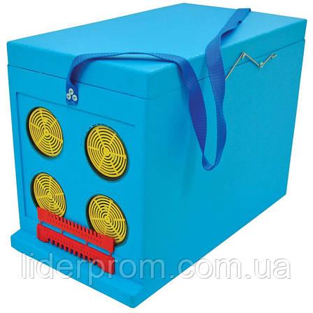 Ящик Дадан для транспортування бджіл 6-рамковий, фарбований LYSON Польща, фото 2
