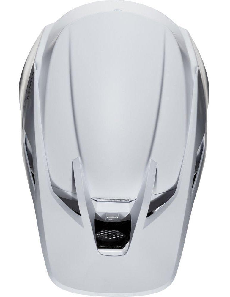 Мотошлем FOX V3 SOLIDS HELMET [White/Silver], L