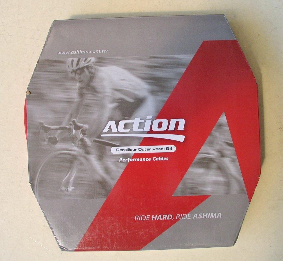 Оплетка переключения скоростей Ashima Action 50м [RED], Gear Ø4.2 mm