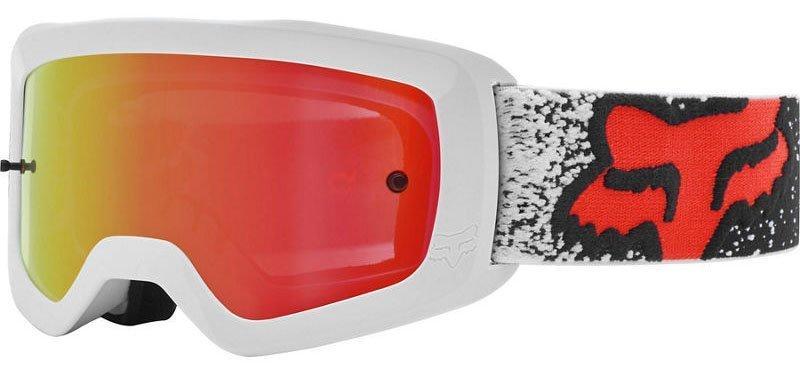 Детские мото очки FOX YTH MAIN II BNKZ SPARK GOGGLE [BLACK], Mirror Lens