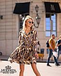 """Летнее платье из шелка Армани """"Vest"""", фото 5"""