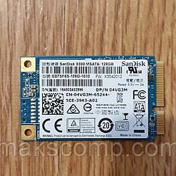 SSD Sandisk X300 128GB msata(б/у)