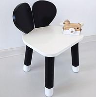 Деревянный детский стульчик Мышка