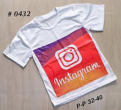 Детские модные футболки Инстаграм