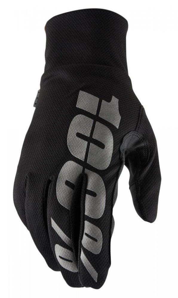 Зимние мото перчатки RIDE 100% BRISKER Hydromatic Waterproof Glove [Black], M (9)