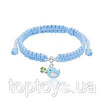 Браслет плетений UMa UMi Пташка блакитна (419541600604)