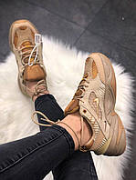 Женские кроссовки Nike M2K Tekno Linen & Wheat & Ale Brown 39